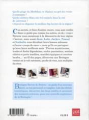 Bretagne ; secrets de bretons - 4ème de couverture - Format classique