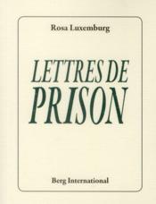 Lettres de prison (2e édition) - Couverture - Format classique