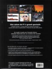 L'année Formule 1 2012-2013 - 4ème de couverture - Format classique