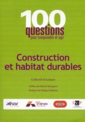 Construction et habitat durables - Couverture - Format classique