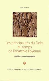 Principautes Du Delta Au Temps De L Anarchie Libyenne - Couverture - Format classique
