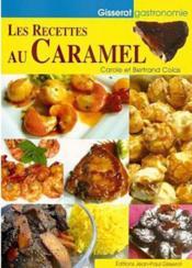 Les recettes au caramel - Couverture - Format classique