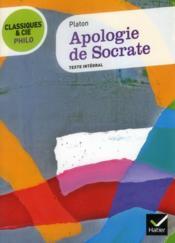 Apologie de Socrate - Couverture - Format classique