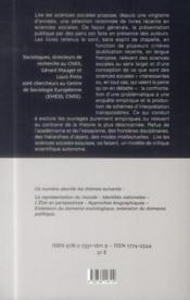Lire les sciences sociales, vol 6 - 4ème de couverture - Format classique