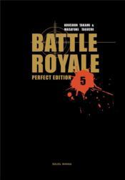 Battle royale t.5 - Couverture - Format classique