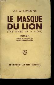 Le Masque Du Lion. - Couverture - Format classique