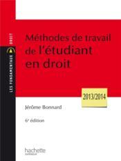 telecharger Methodes de travail de l'etudiant en droit (6e edition) livre PDF/ePUB en ligne gratuit