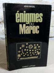 Enigmes du Maroc. - Couverture - Format classique