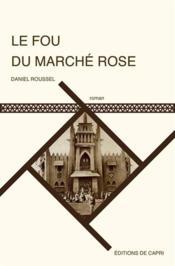 Le fou du marché rose - Couverture - Format classique