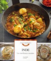 Inde ; les meilleures recettes - Couverture - Format classique