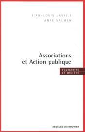 Associations et action publique - Couverture - Format classique
