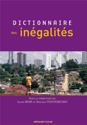 Dictionnaire des inégalités - Couverture - Format classique