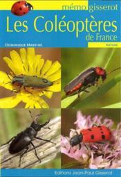 Les coléoptheres de France - Couverture - Format classique