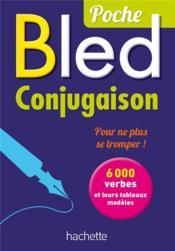 BLED ; conjugaison - Couverture - Format classique
