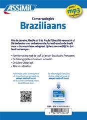 GUIDES DE CONVERSATION ; braziliaans - 4ème de couverture - Format classique