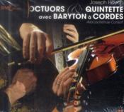 Joseph Haydn ; octuors et quintette avec baryton à cordes - Couverture - Format classique