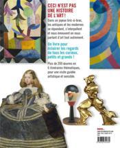 La grande parade de l'art - 4ème de couverture - Format classique