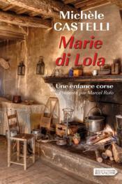 Marie di Lola - Couverture - Format classique