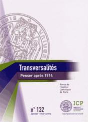 Revue Transversalités N.132 ; janvier-mars 2014 - Couverture - Format classique