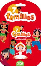 Jeux de 7 familles ; les danses - Couverture - Format classique