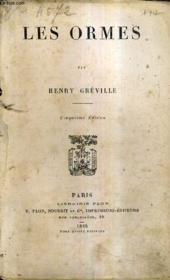 Les Ormes / 5e Edition. - Couverture - Format classique