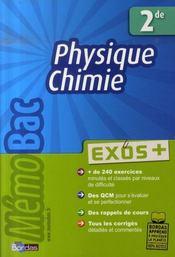 Physique-chimie ; 2nde - Intérieur - Format classique