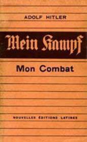 Mein kampf, mon combat - Couverture - Format classique