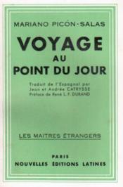 Voyage au point du jour - Couverture - Format classique