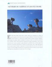 Haute-Savoie - 4ème de couverture - Format classique