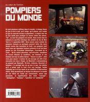 Pompiers du monde - 4ème de couverture - Format classique