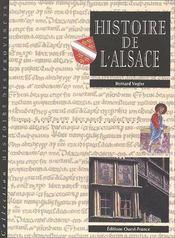 Histoire de l'Alsace ; double monographie - Couverture - Format classique