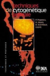 Techniques de cytogénétique animale - Couverture - Format classique