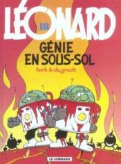 Léonard t.18 ; génie en sous-sol - Couverture - Format classique