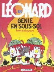 Léonard t.18 ; génie en sous-sol - Intérieur - Format classique