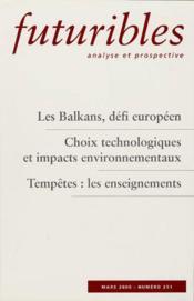 Les balkans defi europeen - Couverture - Format classique