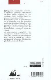 La biographie des regrets éternels - 4ème de couverture - Format classique