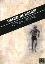 Courir, Ecrire - Intérieur - Format classique