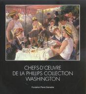 Chefs D'Oeuvre De La Phillips Collection/Relie - Intérieur - Format classique