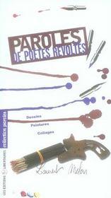 Paroles de poètes révoltés - Intérieur - Format classique