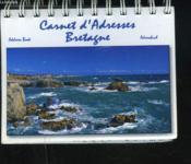 Carnet d'adresses bretagne - Couverture - Format classique