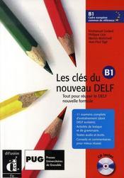Les clés du nouveau delf b1 niveau 3 ; livre élève - Intérieur - Format classique