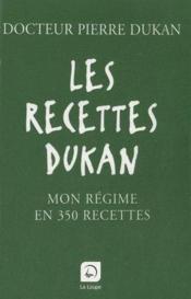 Les recettes Dukan - Couverture - Format classique