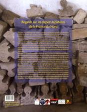 Regards Sur Les Depots Lapidaires De La France Du Nord - 4ème de couverture - Format classique