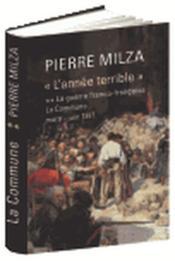 « L'Année terrible », tome 2 - Couverture - Format classique