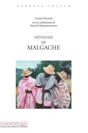 Méthode de Malgache - Couverture - Format classique