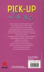 Pick-up love - 4ème de couverture - Format classique