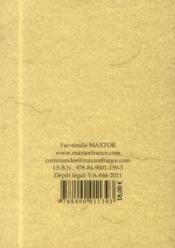 Nouveau traité de blason ou science des armoiries - 4ème de couverture - Format classique