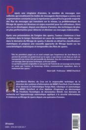 Spam ; classement statistique de messages électroniques ; une approche pragmatique - 4ème de couverture - Format classique