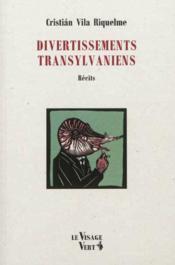 Divertissements transylvaniens - Couverture - Format classique