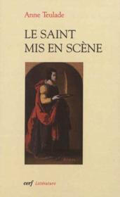 Le Saint Mis En Scene - Couverture - Format classique